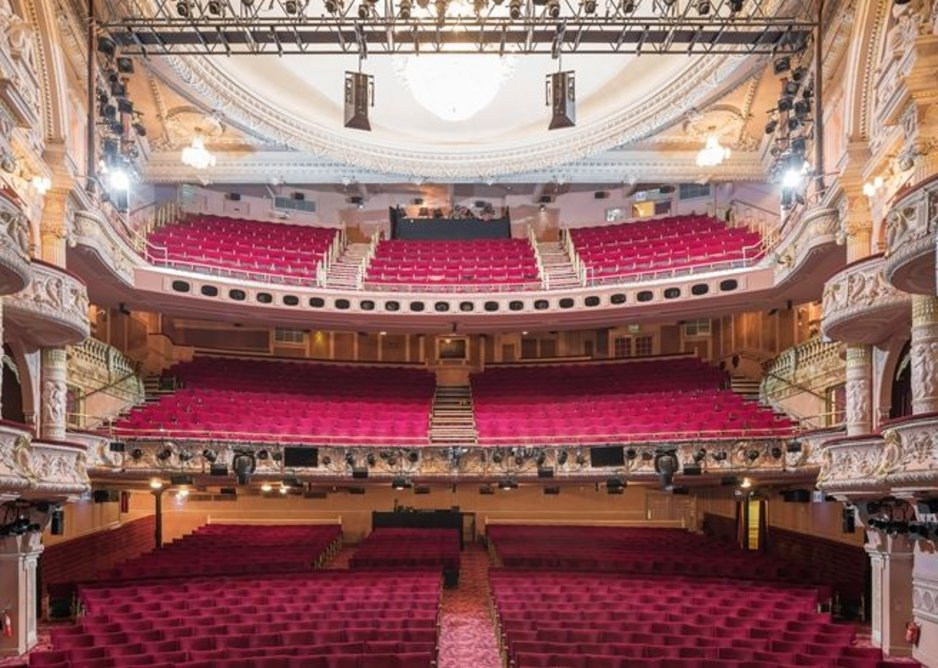 Shaftesbury Theatre, West End.