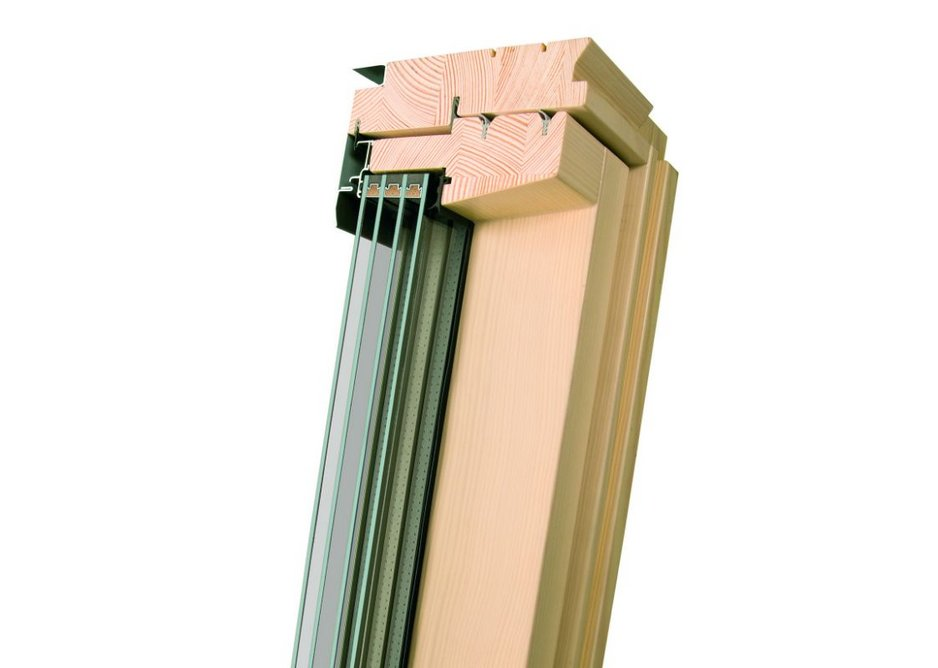 The FTT U8 Thermo window has quadruple glazing and five seals to minimise thermal bridging.