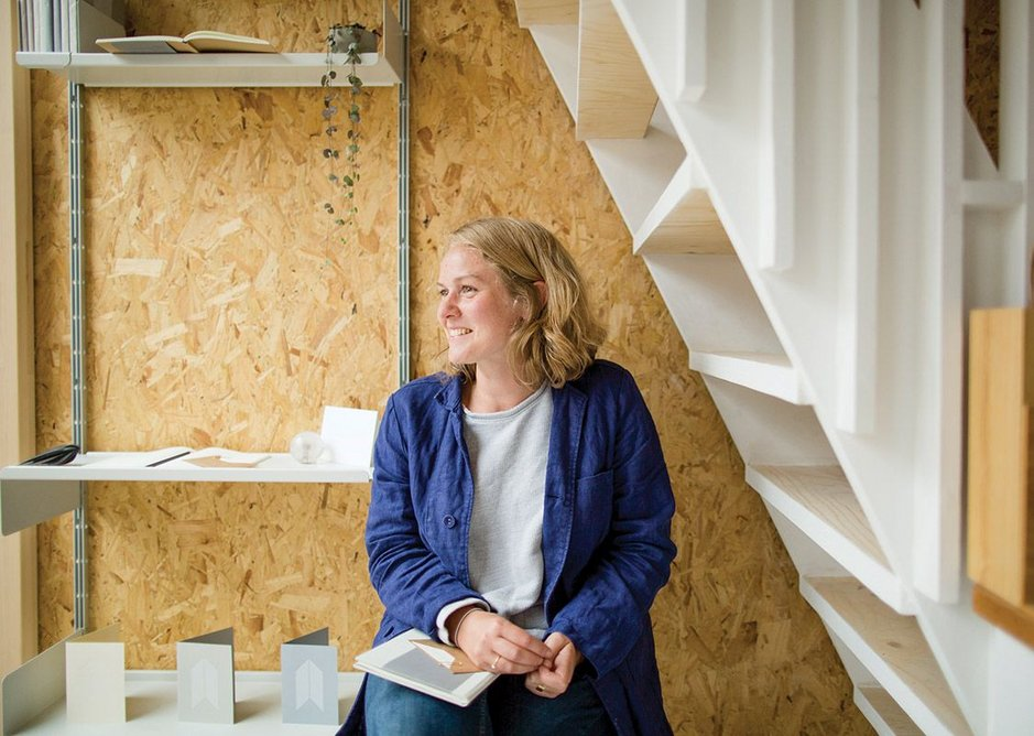 Mark + Fold, a new stationery company, has converted one of the sheds into its first shop downstairs and its head office upstairs.