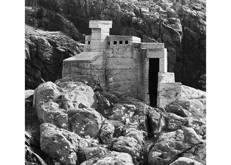 Hermits Castlet Achmelvich in Scotland.