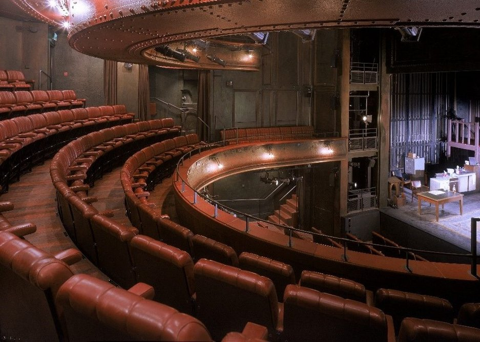 Haworth Tompkins' refurbishment and extension of the Royal Court Theatre in Sloane Square recharged the Victorian theatre, renowned for its new writing. The auditorium was simultaneously stripped back in structure and technically enhanced.