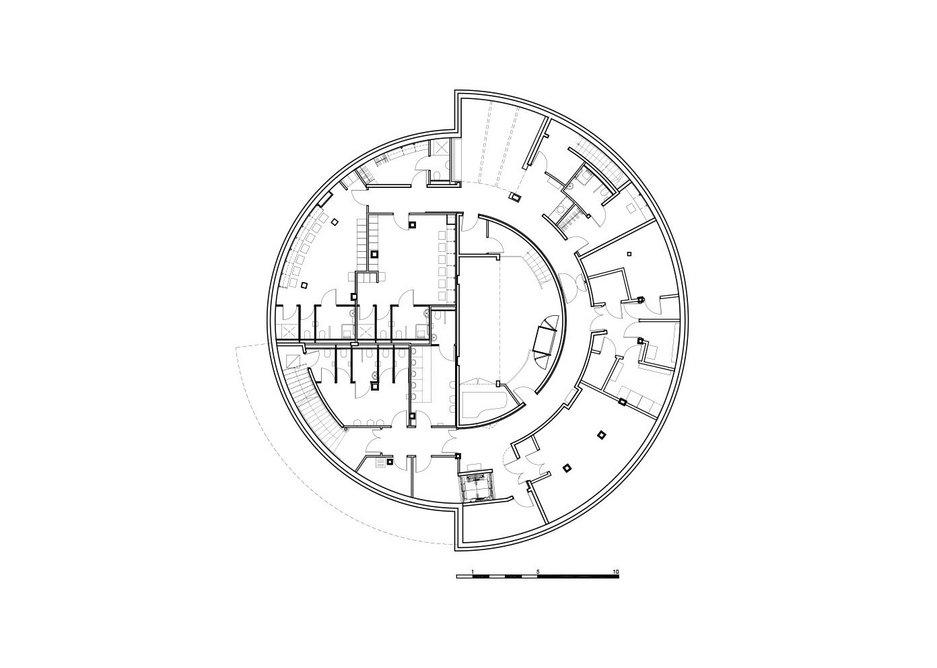 Hardelot basement plan