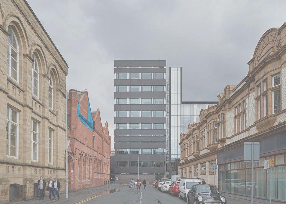 SchuecoAwards Manchester School of Art streetview