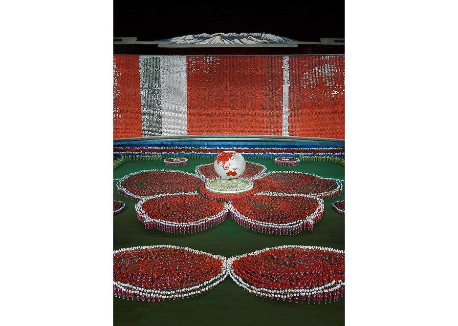 Andreas Gursky Pyongyang VII 2007/2017 C-Print, Diasec 307 x 223 x 6.2cm