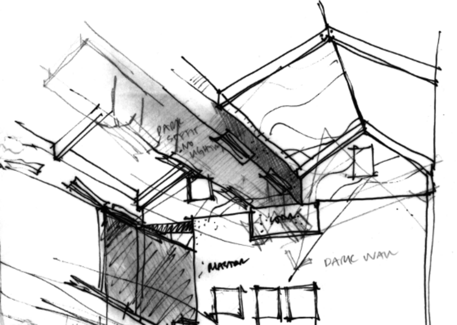 Drawing by Graham Haworth for Cobbs Lane.
