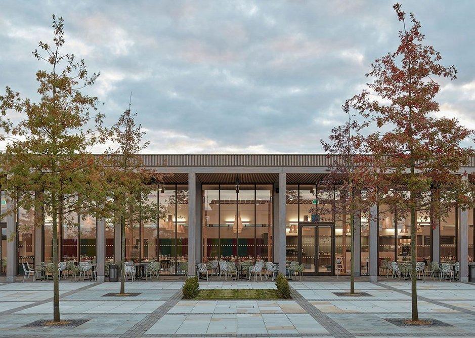 Remembrance Centre by Glenn Howells Architects.