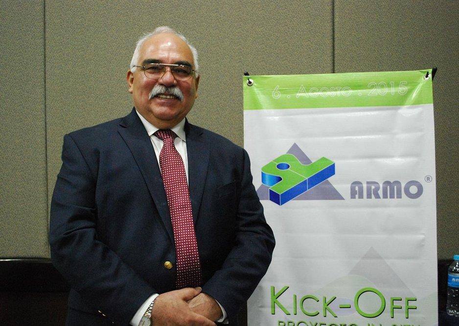 Jorge Capstan: Director of Armo Empress Techba
