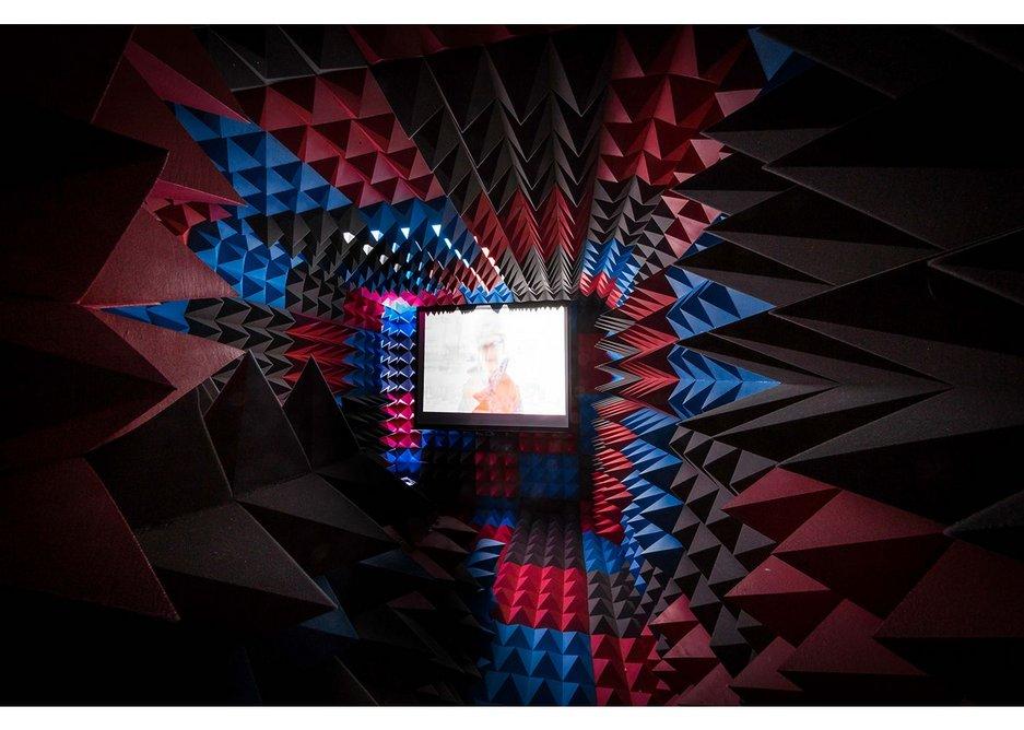 Caution Cinema - interior view.