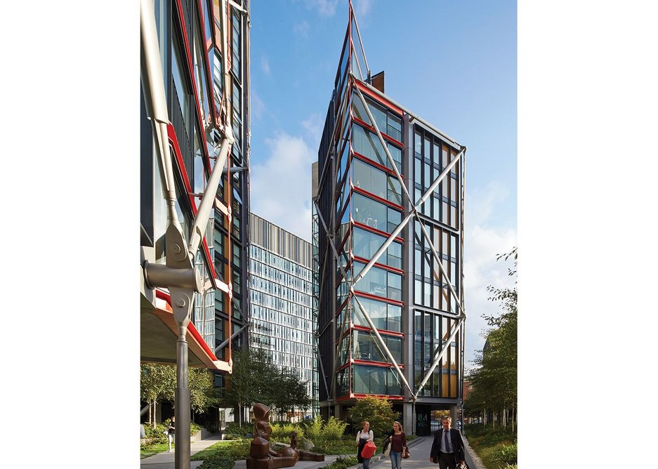 Neo Bankside by Rogers Stirk Harbour + Partners.