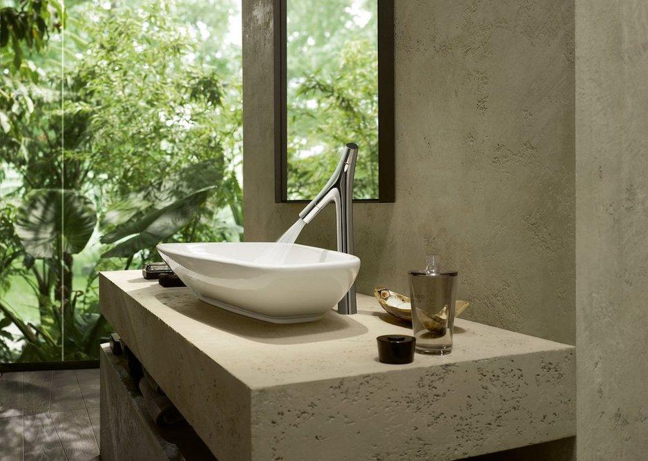 AXOR Starck Organic basin mixer for wash bowls.
