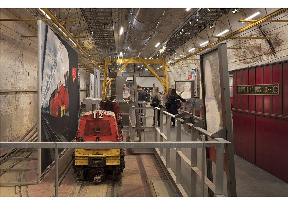 Mail Rail exhibition.