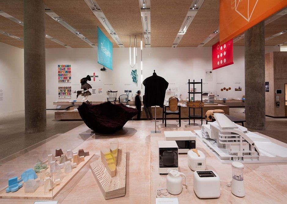 Beazley Designs of the Year exhibition installation.
