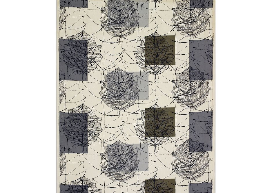 Linden furnishing fabric, Lucienne Day, Heal's, 1960. Copyright the Robin & Lucienne Day Foundation.