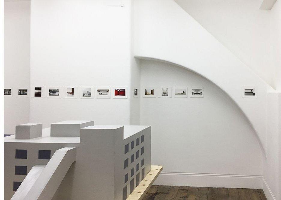 Caruso St John, Diorama, exhibition view.