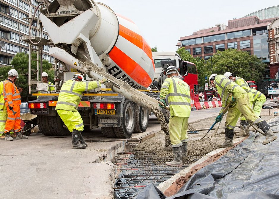 There is a lot of digging up and relaying to be done to improve things in UK cities. Here at Elephant & Castle. TfL Visual Services