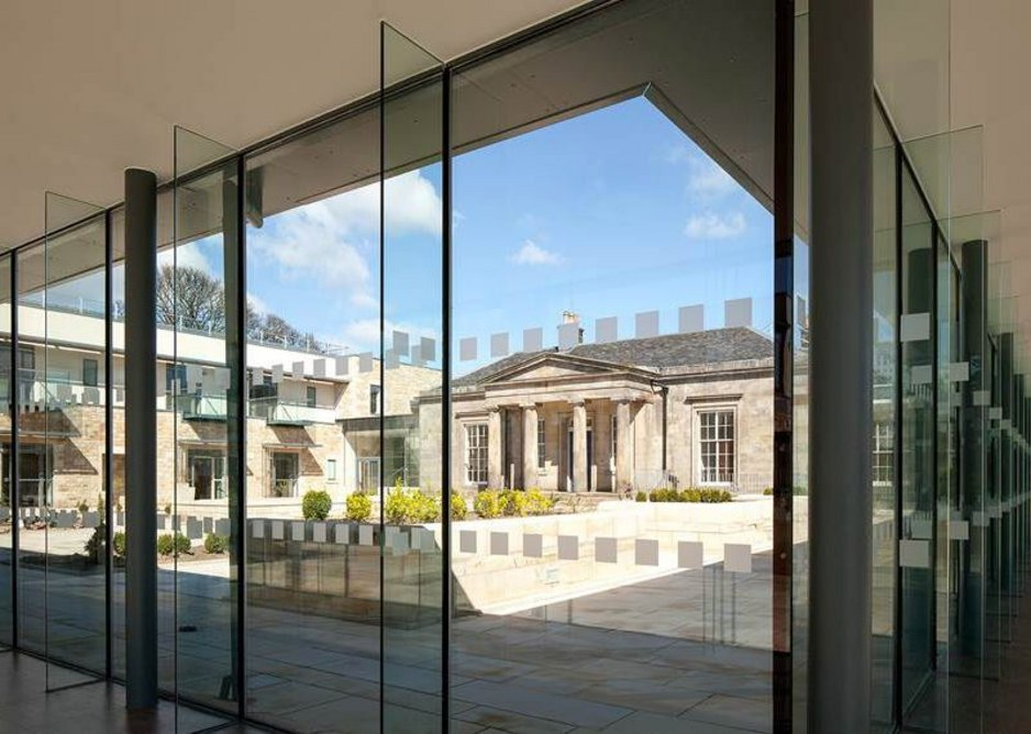 At St Columba's Hospice in Edinburgh Ian Clarke took historic ingredients into a new healthcare age.