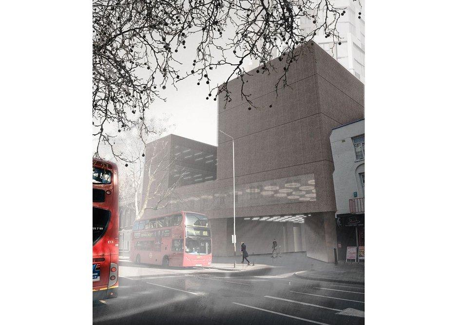 Casper Mueller Kneer's Ministry of Sound proposal, London.
