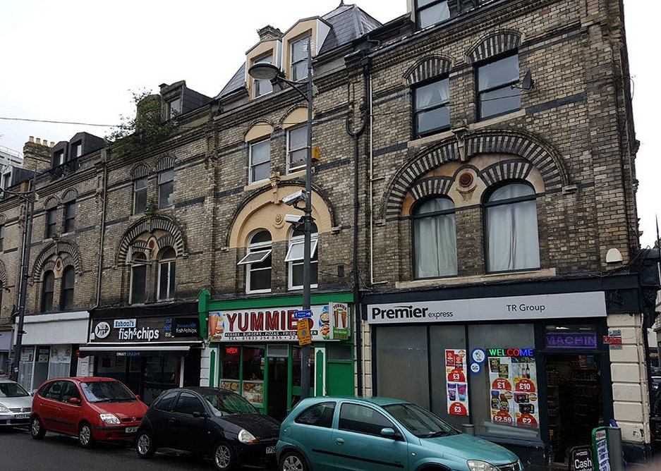 What can be done for distressed buildings? Paisley high street.