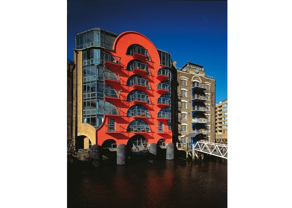 CZWG's China Wharf in London Docklands, completed 1988.