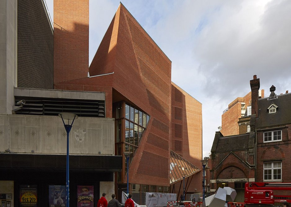 Saw Swee Hock Student Centre at the LSE, by O'Donnell + Tuomey