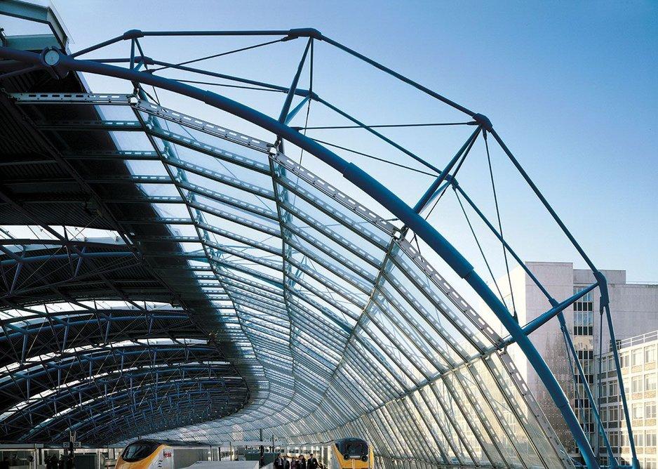 International Terminal Waterloo, London by Grimshaw Architects.