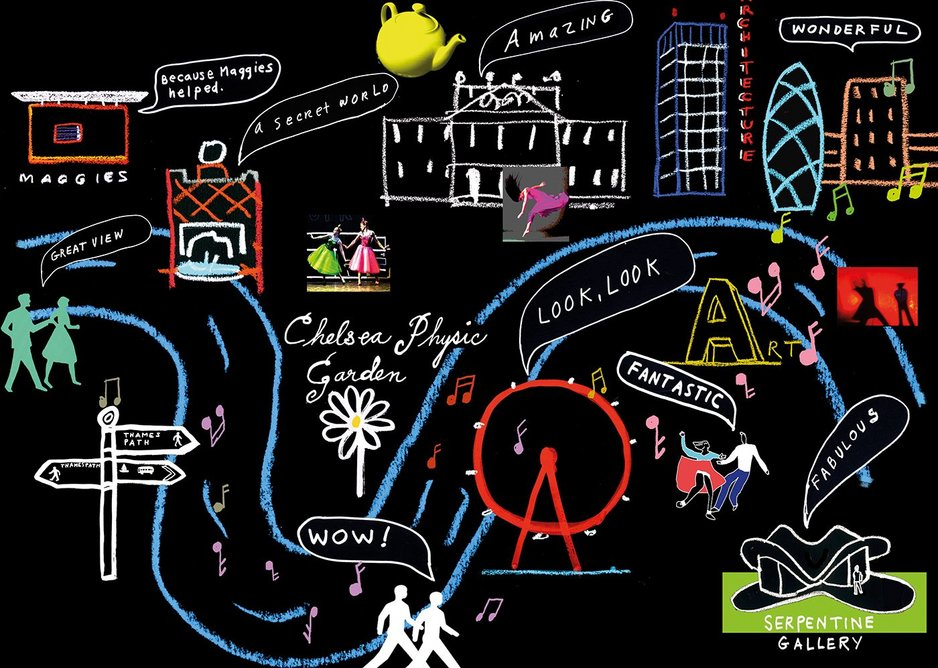 Maggies 2014 Culture Crawl map.
