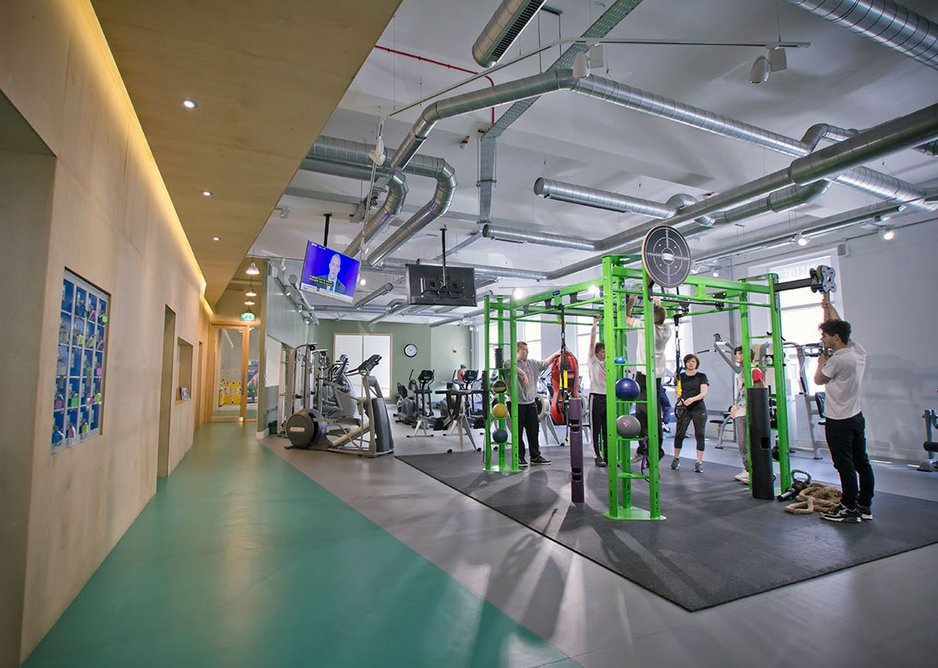 YMCA North Tyneside gym