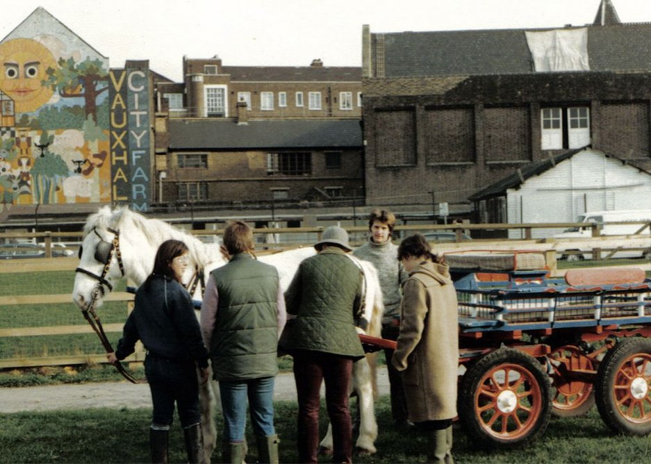 Vauxhall City Farm - history
