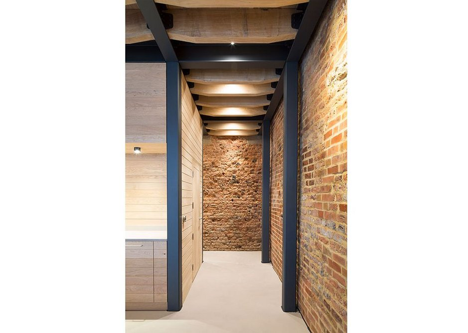 RIBA Regional Awards 2019 London West. Boutique office in Paddington. Williams Architects for Green Sound.