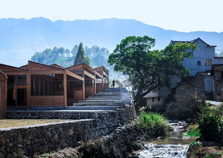 Tofu factory, part of The Songyang Story, a series of buildings designed by DnA-Design and Architecture to revitalize a rural area in Zheijang Province, eastern China.