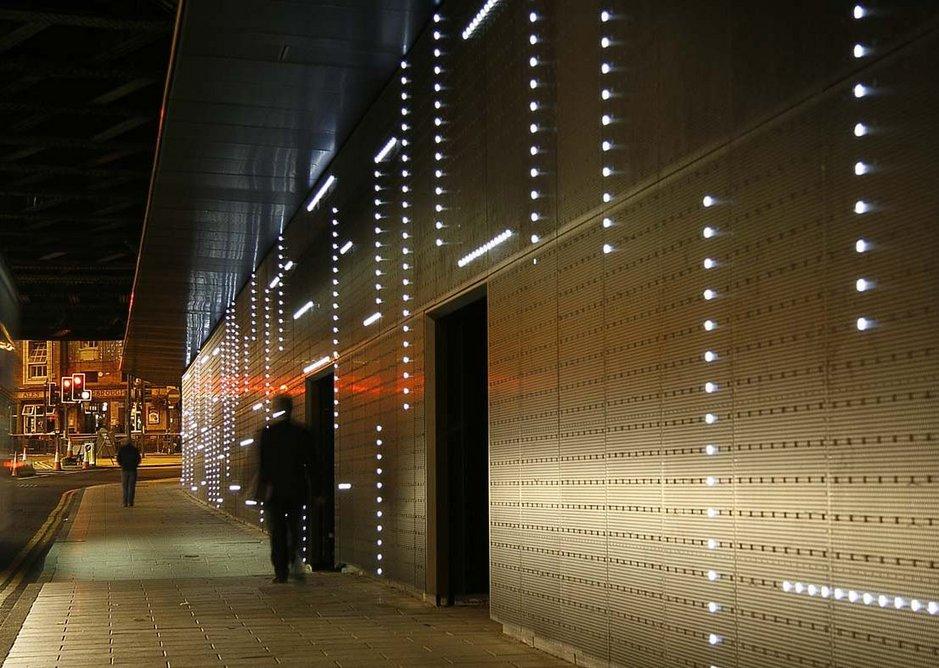 Bauman Lyons lights up Neville Street, Leeds.