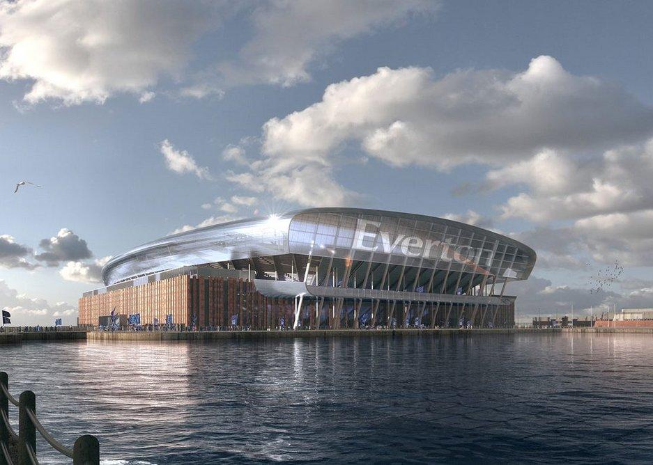 Bramley Moore Dock Stadium by Meis and Pattern.