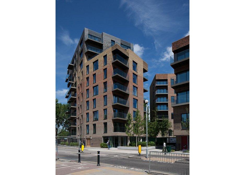 BEST HOUSING DESIGN AWARD: Trafalgar Place, London by de Rijke Marsh Morgan Architects