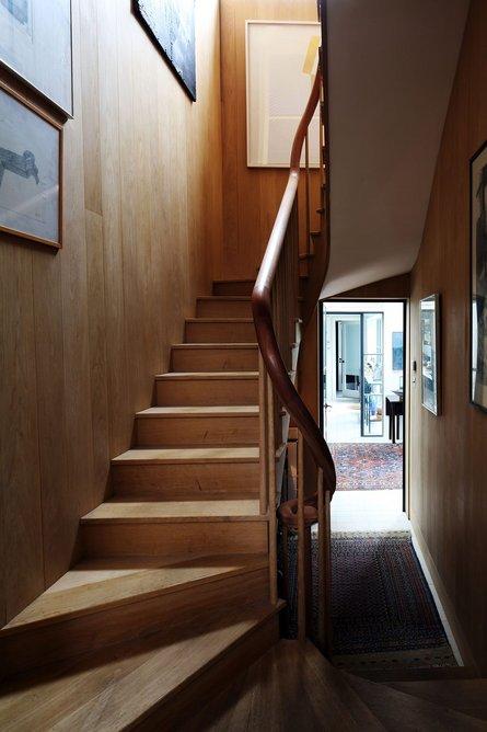 John Meagher's refurbished terrace house in Dublin.