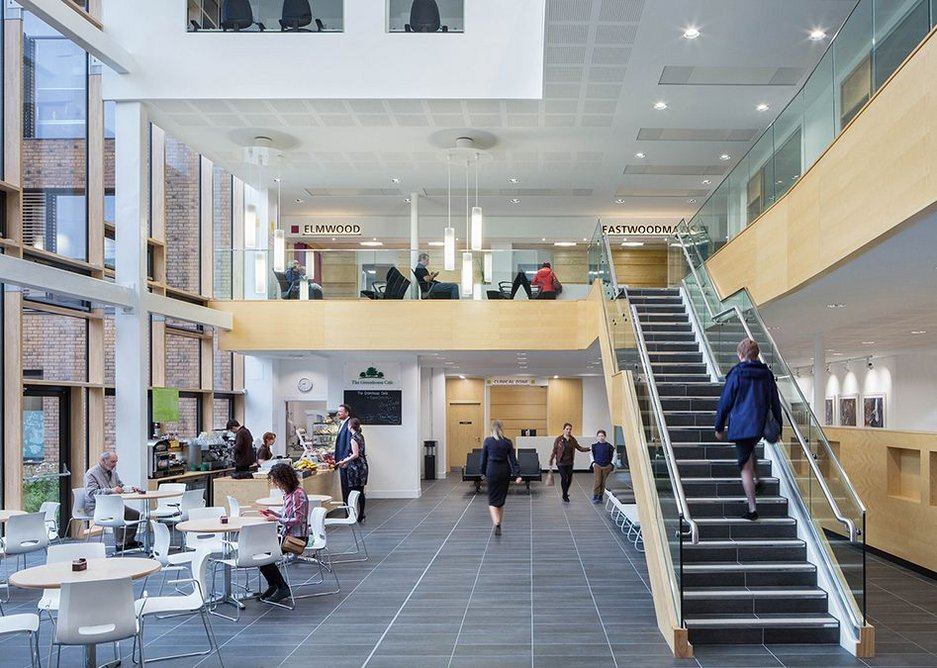 Eastwood Health and Care Centre, Hoskins Architects.