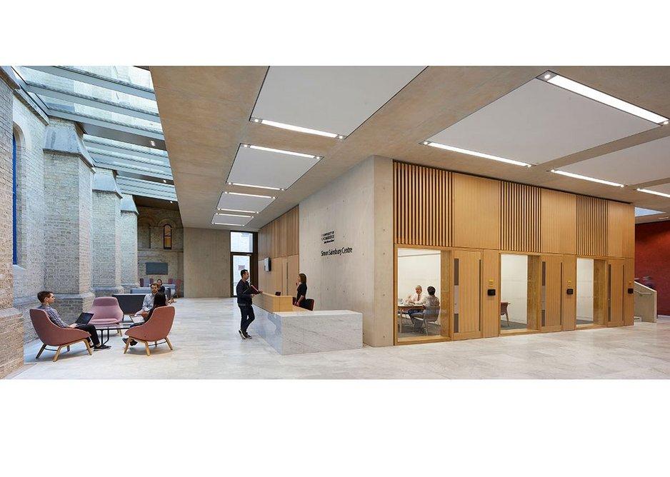 Simon Sainsbury Centre, Cambridge Judge Business School