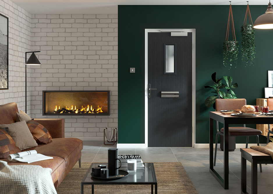 Door-Stop fire doorset: Certisecure, a scheme recognised by Secured by Design, has been used to accredit the security performance.