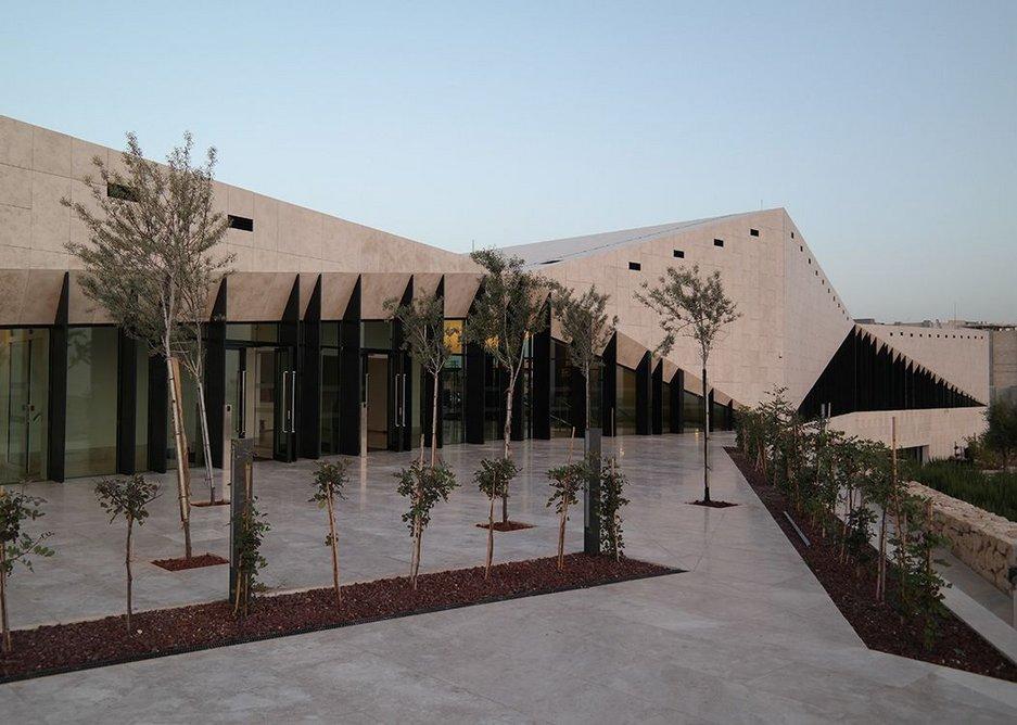 'A statement of resilience,' says museum director Mahmoud Hawari.