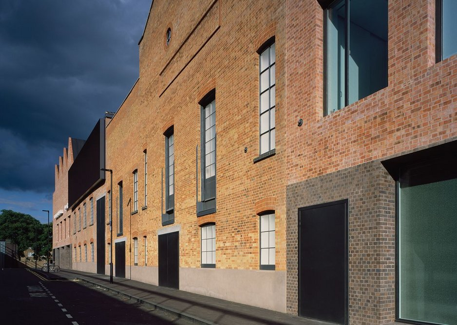 The architect's intervention, now taking up a significant side of the street, is considered and contextual – even if it is predominantly a dead one.