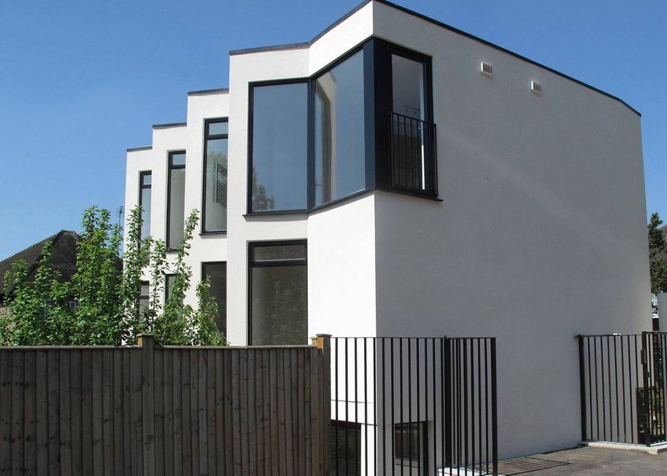 Bellis Architects - Dunedin Mews (London Evening Standard New Homes Award Winner 2012)