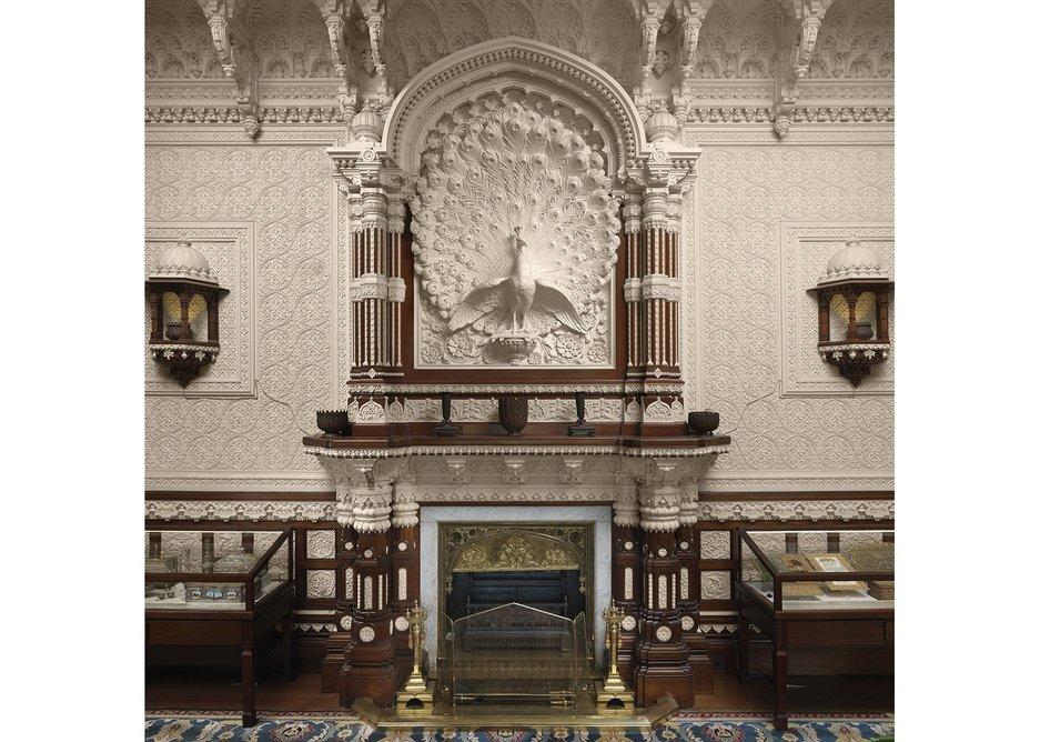 Durbar Hall at Osborne, designed by Bhai Ram Singh and Lockwood Kipling in 1890.