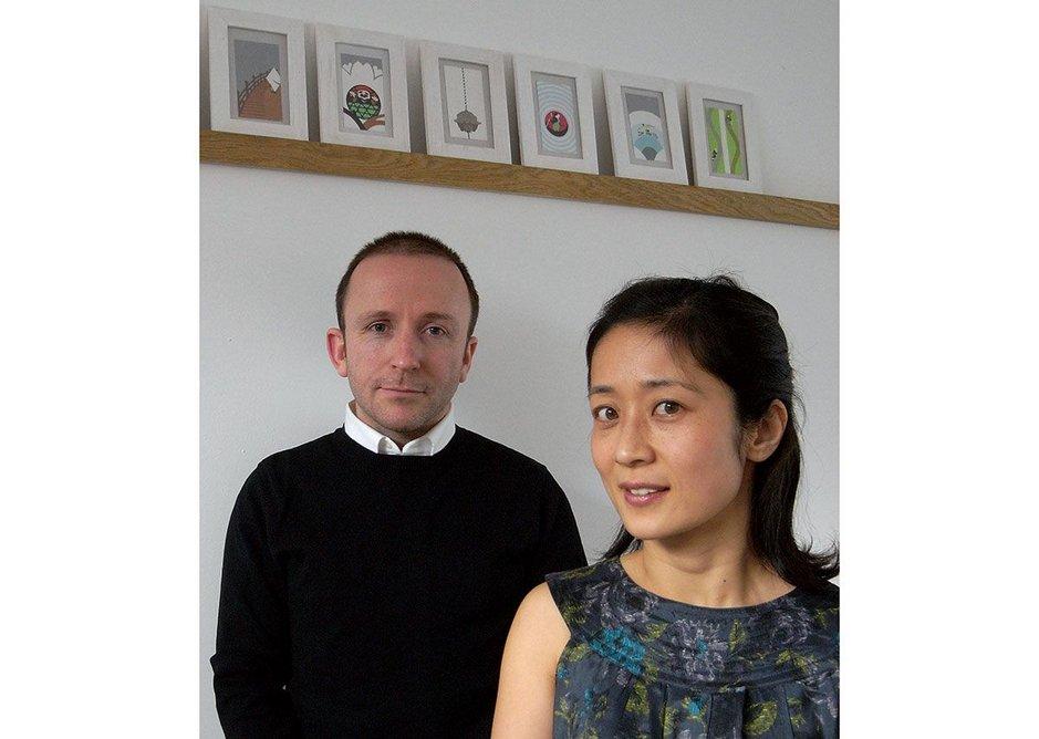 Kieran Gaffney and Makiko Konishi.