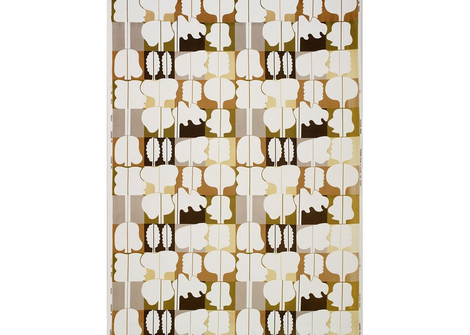 Parkland furnishing fabric, Lucienne Day, Heal's, 1974. Copyright the Robin & Lucienne Day Foundation.