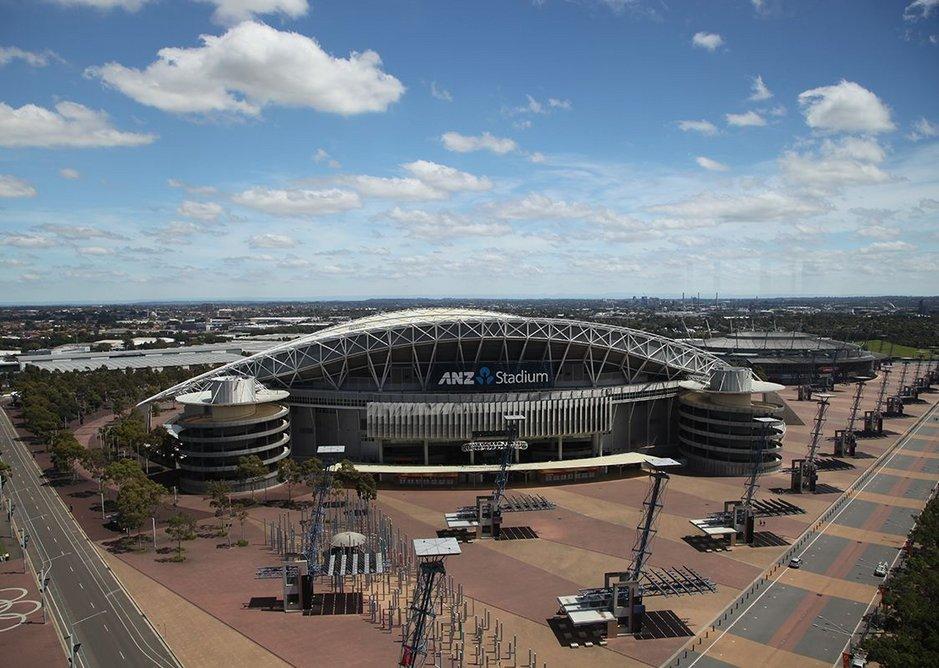 The Olympic stadium at Sydney Olympic Park.