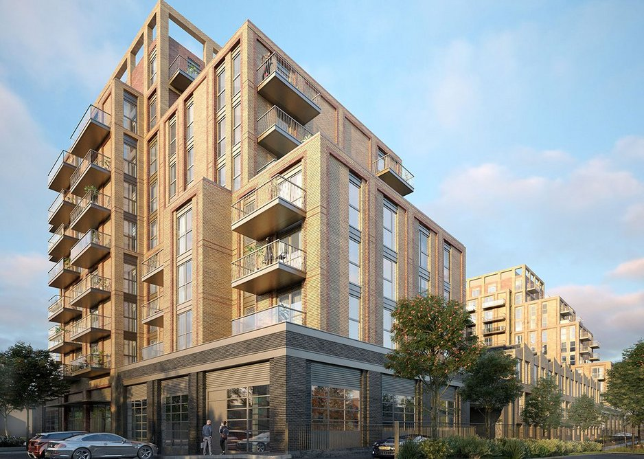 Mixed-use development, Hanwell by Patel Taylor.
