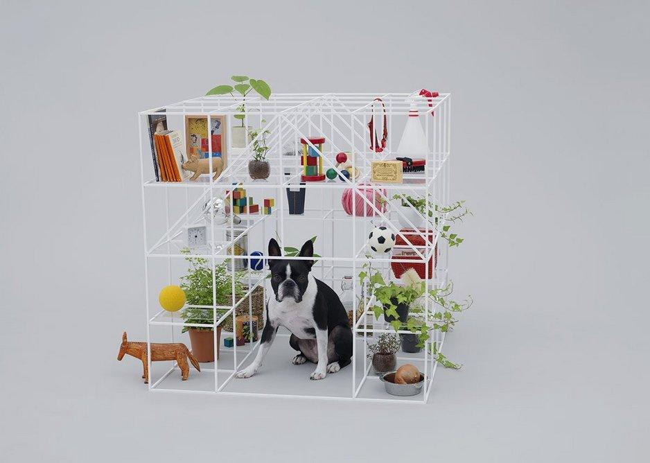 No Dog, No Life! by Sou Fujimoto for Boston Terrier.
