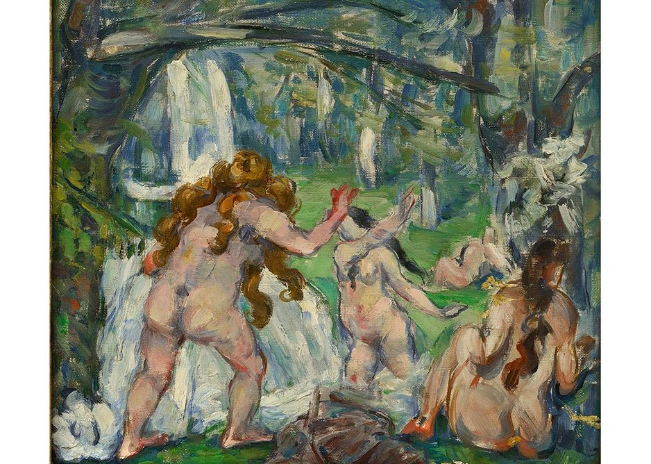Paul Cezanne, Three Bathers, c. 1875, private collection.