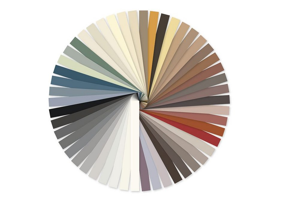 Fugabella Color is available in a wide range of rich intense shades.