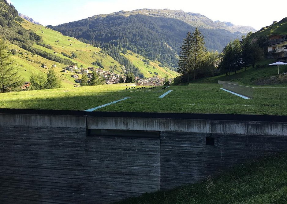 Therme Vals, Switzerland, designed by Peter Zumthor.