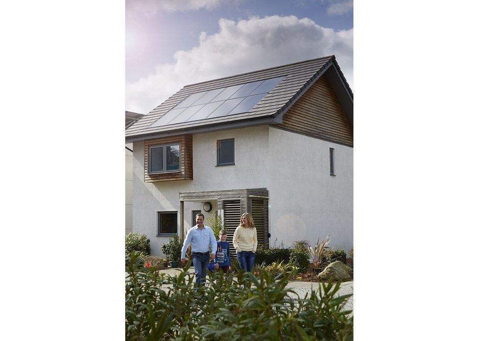SolarCentury's Sunstation PV panels.